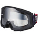 100% Strata Goggle slash/anti fog clear